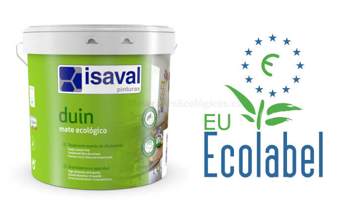 Pintura plástica ecológica Isaval