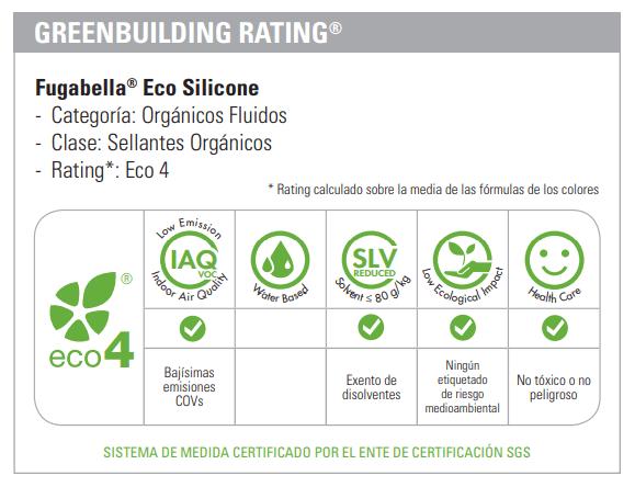 Silicona ecológica Kerakoll Greenbuilding
