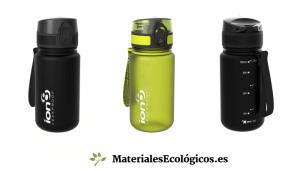 botellas reutilizables de plástico sin bisfenol