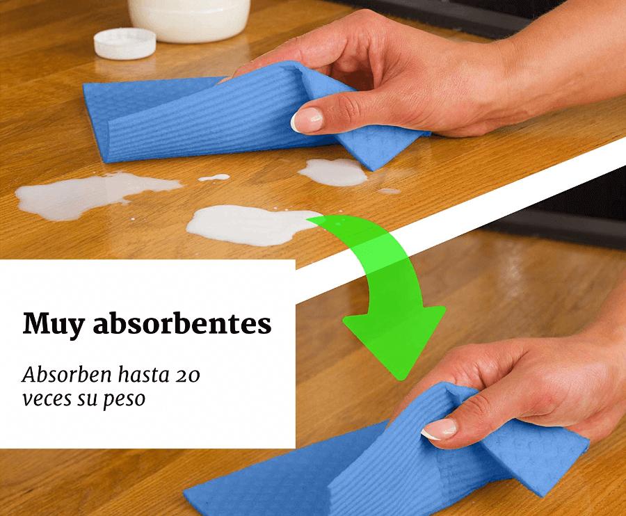 bayetas ecologicas absorbentes
