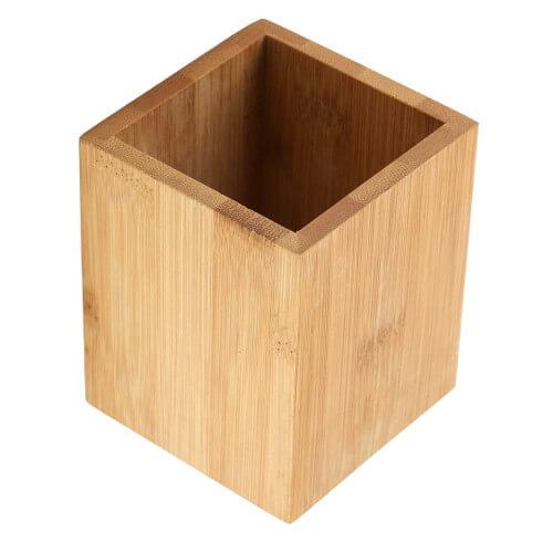 Cubilete portalápices madera