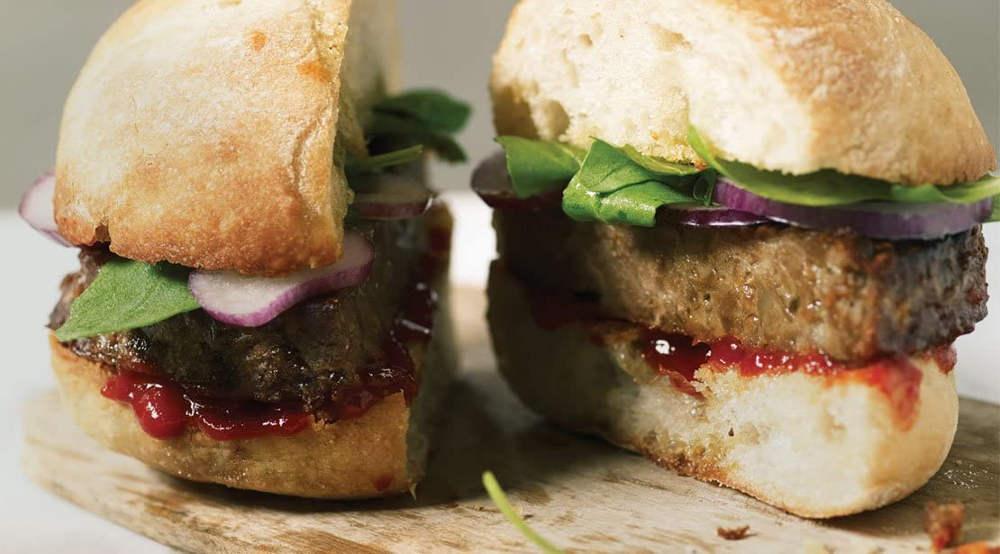 hamburguesa vegana linda mccartney