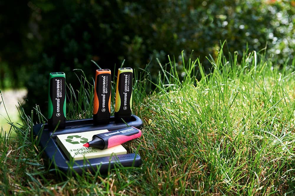 marcadores fluorescentes ecológicos