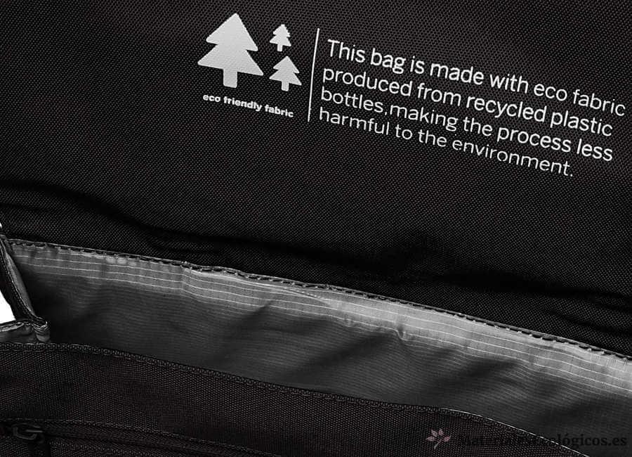 mochila reciclada para portátil lefrik