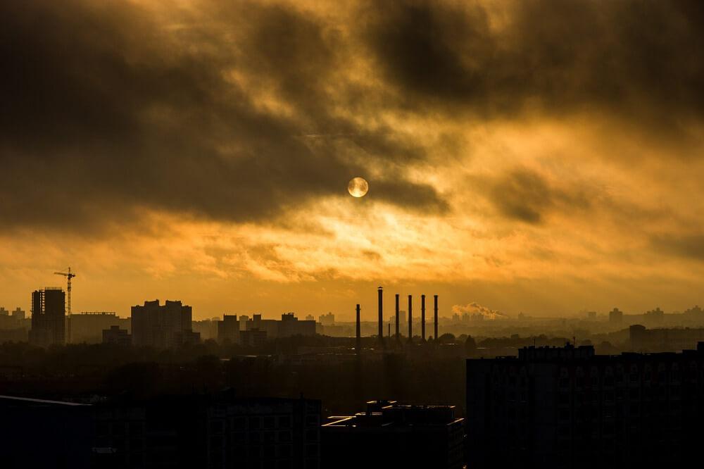 Smog causado por COV