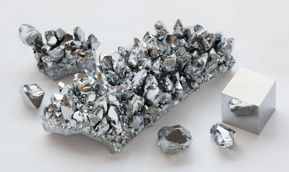 cristales de cromo