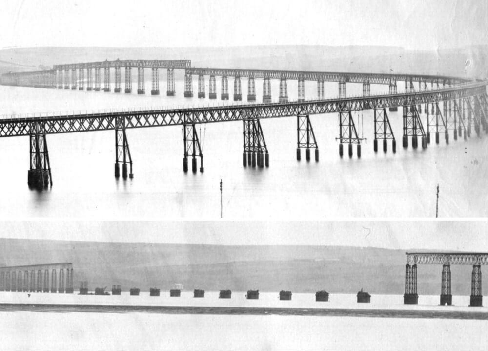 puente de fundición Tay