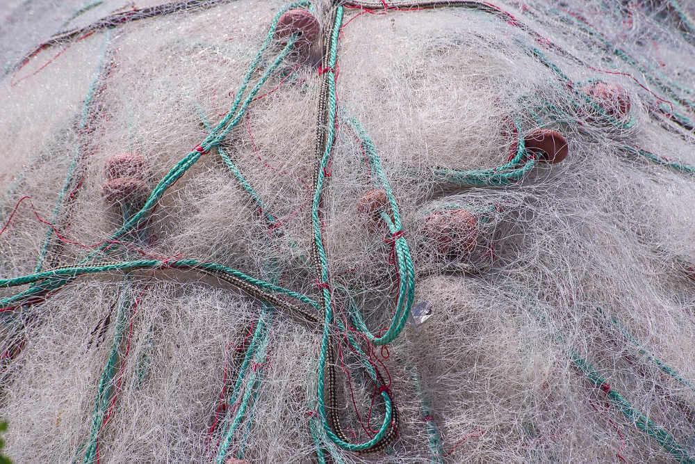 redes de pesca de nailon