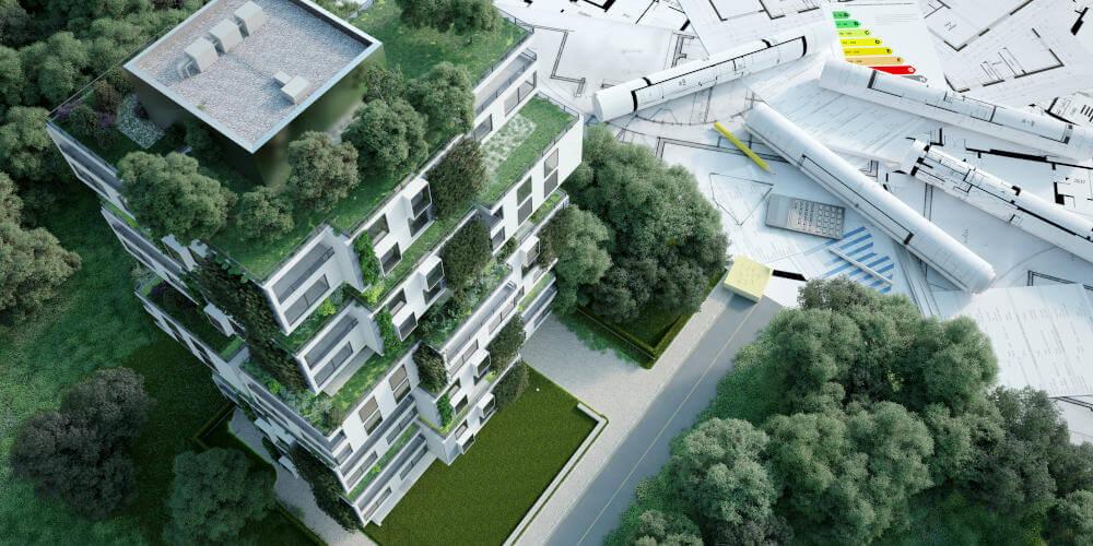 arquitectura sostenible: proyecto de apartamentos ecológicos