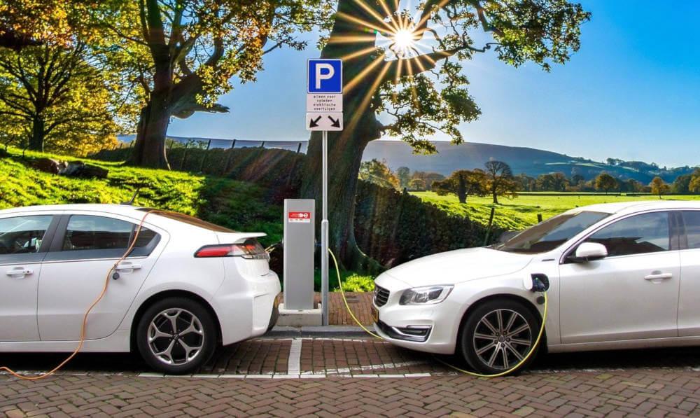 estación de recarga para coches eléctricos