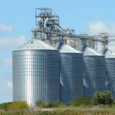silos en industria de la alimentación